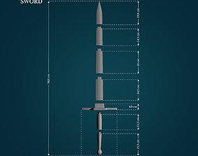 Masamune Sword from Chrono Trigger 3D print model