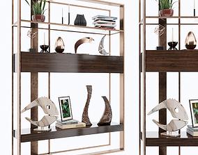 furniture vase Shelf 3D model