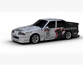 Holden Commodore VL Race Car 1990 3D model