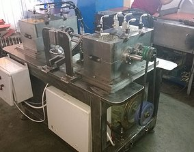 3D back to back parallel axes gear test rig closed circuit