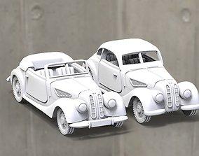 3D printable model car retro