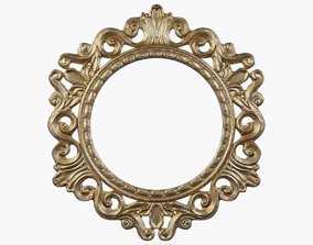 Round Picture Frame 3D model