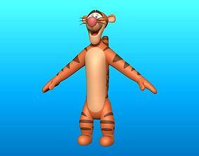 3D model Tigger Optimize