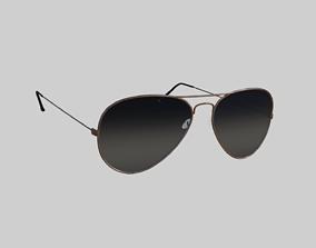 Aviator Glasses 3D model