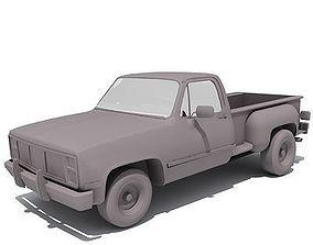 3D model Dark classic GMC Car