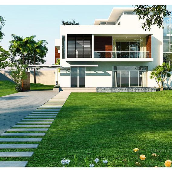 Exterior 3D Architectural Visualization