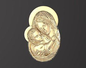 3D print model Icon Holy Mother of God 050