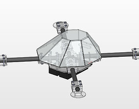 3D printable model Quad Copter