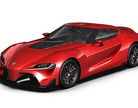 3D 2017 Toyota FT-1