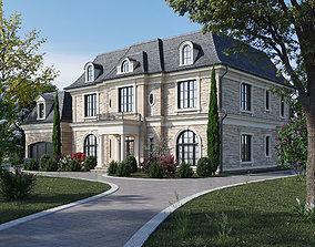 Classic house 1 3D model