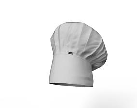 3D model realtime chef hat