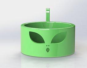 Alien Keys Tray 3D print model