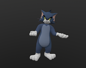 3D model TOMC-025 Tom Cat Talking Both Hands