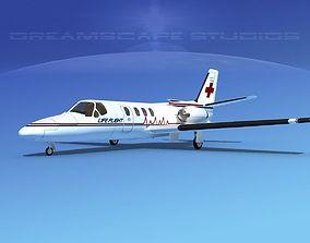 Cessna 500 Citation I V14 3D