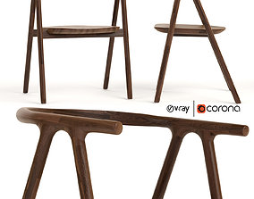 3D Tanaka dining chair Industry west