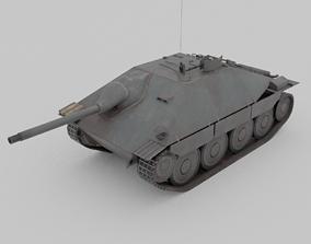 Jagdpanzer 38 Hetzer Light Tank Destroyer 3D asset