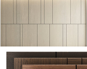 3D Decorative wall panel set 6