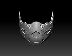 Sub Zero mask for cosplay Mortal Kombat 11 MK 3D 2