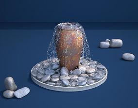 3D model Ceramic Jar Fountain