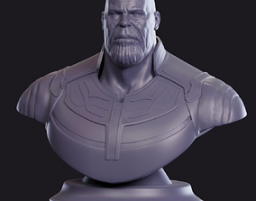 3D printable model wolverine Thanos