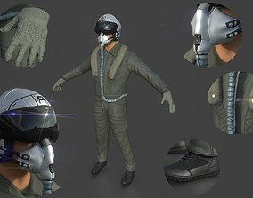 3D model Pilot