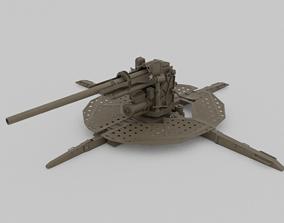 M1 90mm AA-AT Gun 3D model