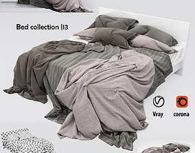 Bed collection 13 3D asset
