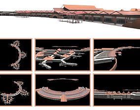 SUKARNO HATTA INTERNATIONAL AIRPORT INDONESIAN 3D model