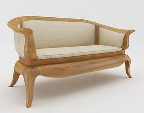 Lazy Sofa 3D asset