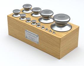 3D model Calibration Weight Set