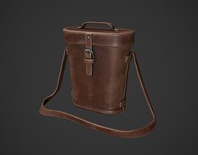 3D model Vintage Leather Binocular Bag