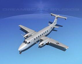 3D Beechcraft C-12J Huron V02 USAF