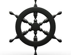 3D model Ships Wheel pirate