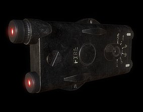 Weapon Laser Sight for Games 3D asset