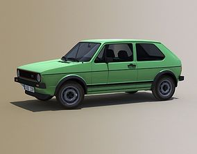 3D model Volkswagen Golf Mk1 5-door 1967