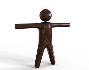 3D model StickMan