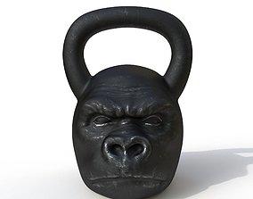dumbbell monkey 3D