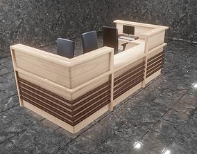 3D asset Desk Reception