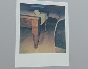 Polaroid Table 3D asset realtime