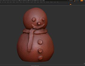 frost Snowman 3d print model