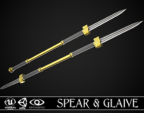 Spear and Glaive A4 3D model