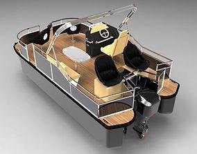 Catamaran 3D print model