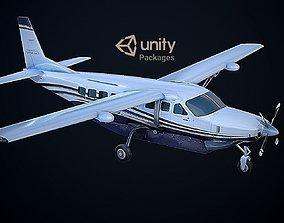 Cessna 208 Caravan VR Unreal PKG 3D asset