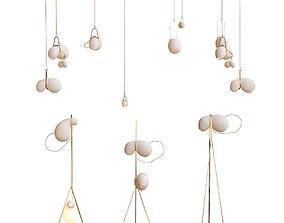 3D Catch lindsey adelman chandelier