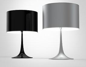 Spun light T table lamp 3D