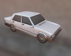 Tofas Sahin Car Araba Arac Dogan SLX Turkish 3D model 2