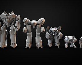 Printable Robots Combo