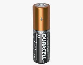 Duracell AA Battery 3D