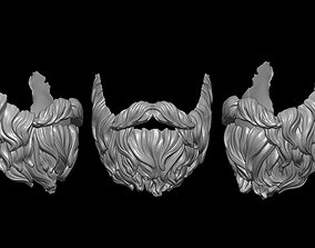 3D printable model Beard