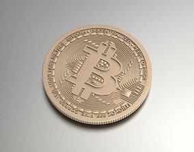 3D printable model Bitcoin Souvenir